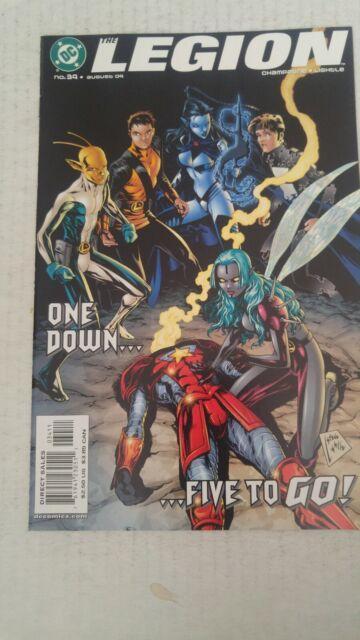 The Legion #34 August 2004 DC Comics Champagne Lightle
