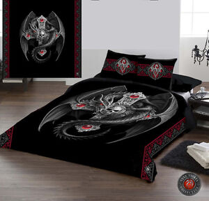 Fantasy Gothic Skull Bed Set