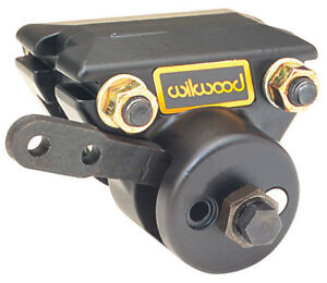 NEW WILWOOD MECHANICAL SPOT CALIPER WITH PADS,PARKING BRAKE,FOR .81 ROTORS,RIGHT
