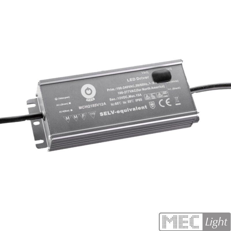 grande vendita LED Trasformatore Alimentatore regolabile con PFC 24v 24v 24v 185w 7,7a impermeabile (mchq 185v24a)  prezzo più economico
