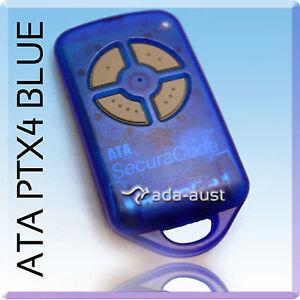 BRAND NEW ATA PTX4 GENUINE REMOTE SUITS RELIANCE GARAGE DOOR REMOTE 433.92MHz