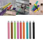 Colorful Bird Stand Foot Toys Paw Grinding Perches Cage Parrot Budgie Chew Toys