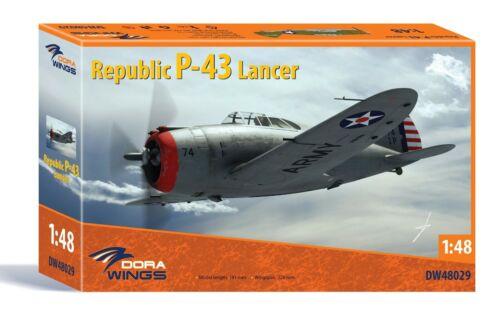 Dora Wings 48029 Republic P-43 Lancer Plastic model kit 1//48