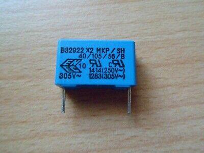 5/% 1000V EPCOS//TDK RM15 1KV B32622A103J189 500~ 10 Stück 10nF 0,01µF