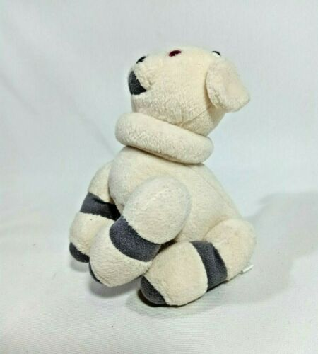 AIBO Ivory Plush Doll Official Goods Plush Doll Posable Japan Sony 2002