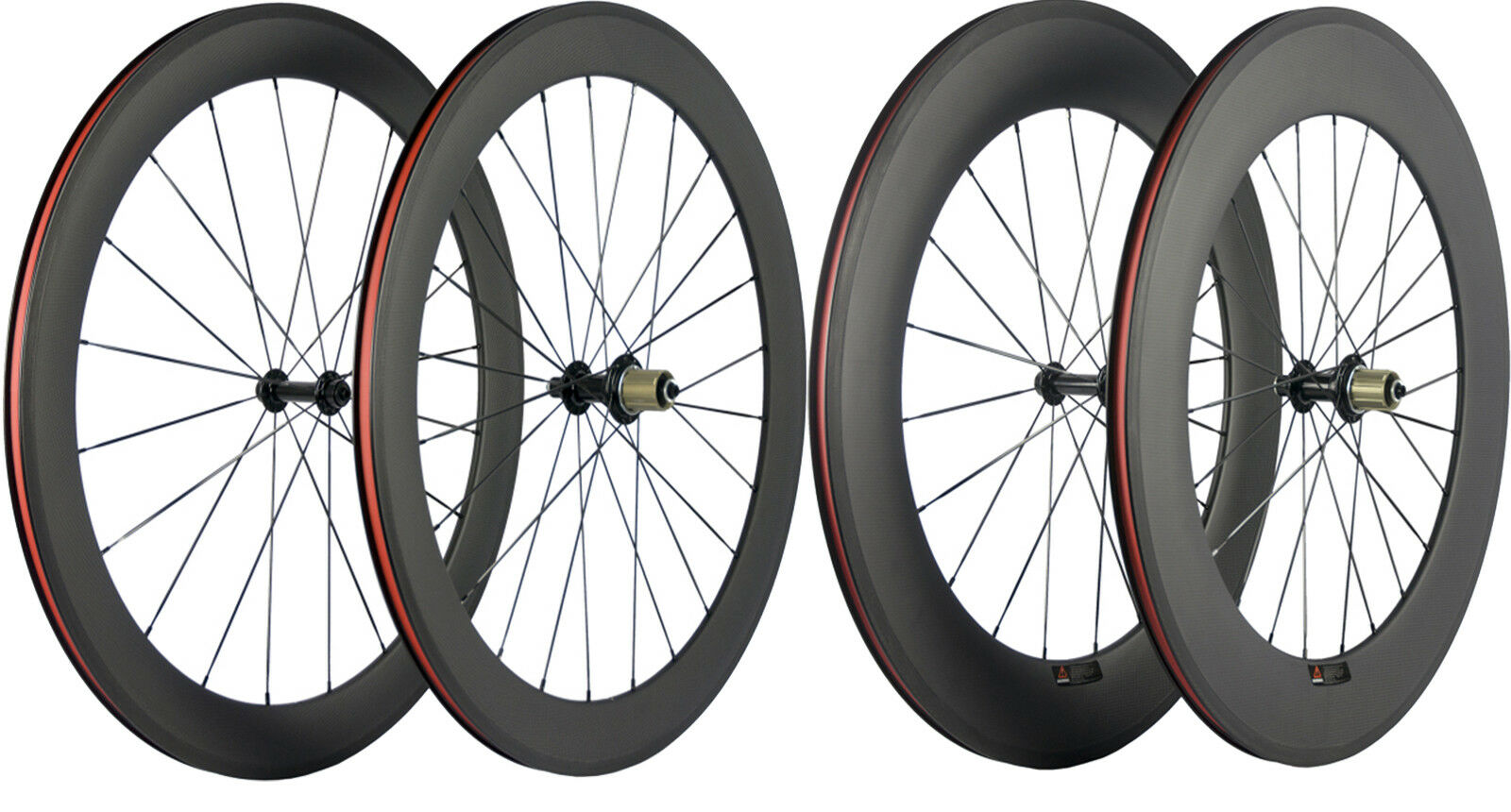 Carbon wheelset 700C 60 88mm  Bicycle Wheelset Clincerh 25mm U Shape Matte Wheeel  incredible discounts