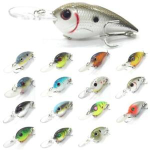 wLure 4 inch Crankbait Fishing Lures Deep Diving Slow Floating C628