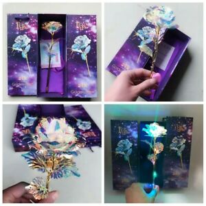 decoration-feuille-d-039-or-24k-fleur-de-rose-la-fete-des-meres-l-039-artisanat-conduit