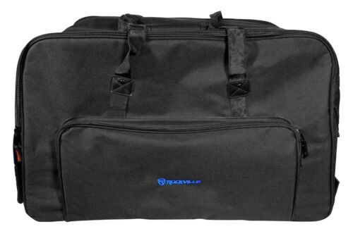 Rockville Rolling Travel Case Speaker Bag w//Handle+Wheels For JBL EON615