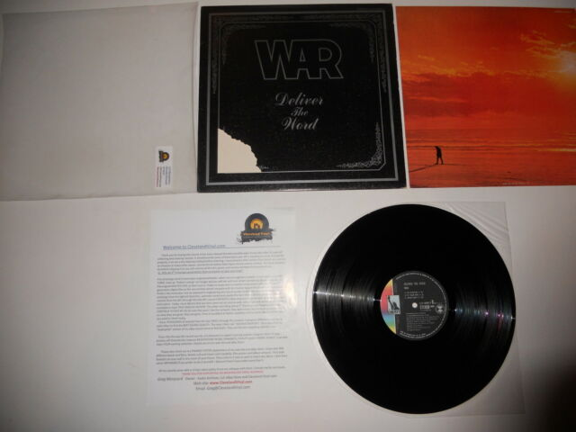 War Deliver the Word Japan 1st 1973 Analog VG++ Press Ultrasonic CLEAN