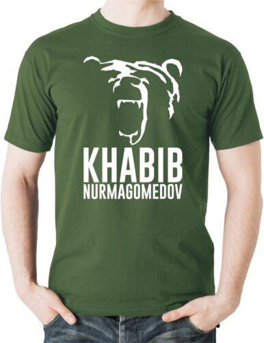 Khabib Nurmagomedov TShirt The Eagle UFC MMA Russian Sambo Wrestler Fighter Tee