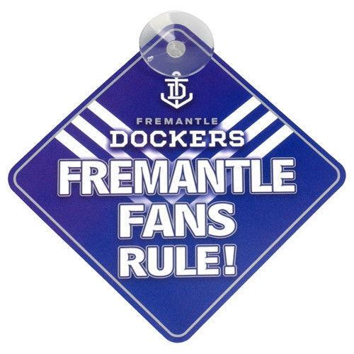 AFL-Freemantle-Team-Fans-Rule-Car-Window-Sign-fast-post