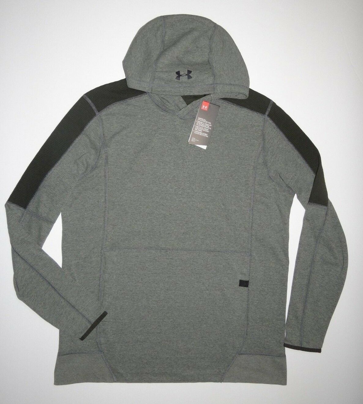 New Under Armour  Herren UA Lighter Longer Loose Fit Pullover Hoodie L