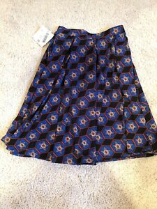 Lularoe Madison Skirt Xs New With Tags