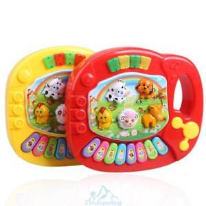 Musik-Spielzeug-Klavier-Cartoon-Tiere-Elektronisch-Instrument-Babyspielzeug-Baby