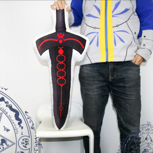Anime Japan Fate Stay Night Saber Black Excalibur Pillow Cushion Doll Toy Decor