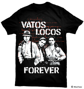 blood in blood out tshirt vatos locos forever ebay