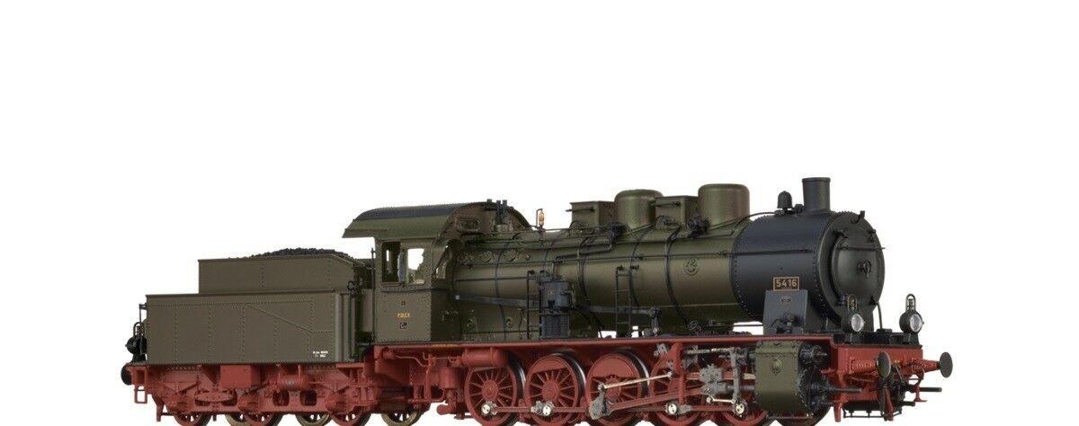 Brawa ho 40802 máquina de vapor g10 de la p. St. e.V. EP. I digital + Sound nuevo embalaje original