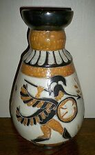 X Large Art Deco 1930's Belgian Guerin DUBOIS Neo-Classical Mythological Vase