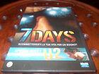 7 Days - scommetteresti la tua vita per un sogno? U2 Dvd ..... Nuovo