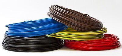(0,169€/m) 100 m  PVC Aderleitung H07V-U 1,5 mm² - Einzelader starr 100m