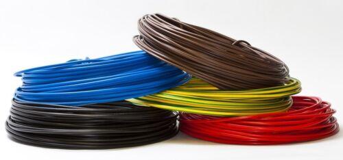 Verdrahtungsleitung Aderleitung H07V-K 6 mm² flexibel NEU OVP 0,74€//m