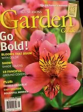 ALL SEASONS GARDEN Guide 2014 Old Farmers Almanac Garlic Orchids Berries Blooms