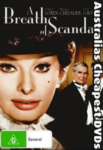 1 of 1 - A Breath Of Scandal DVD NEW, FREE POSTAGE WITHIN AUSTRALIA REGION 4
