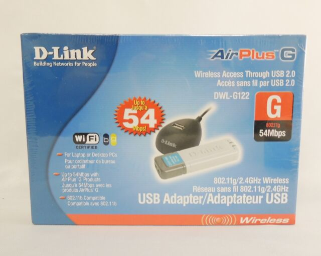 D-LINK DWL-G122 WIRELESS USB WINDOWS DRIVER DOWNLOAD