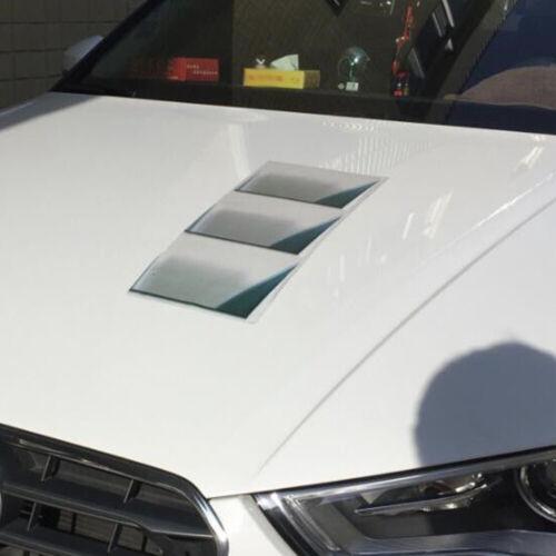 2PCS Vivid 3D SUV Car Decor Hood Fender Vent Air Stikcer Paster Decal 48*20cm