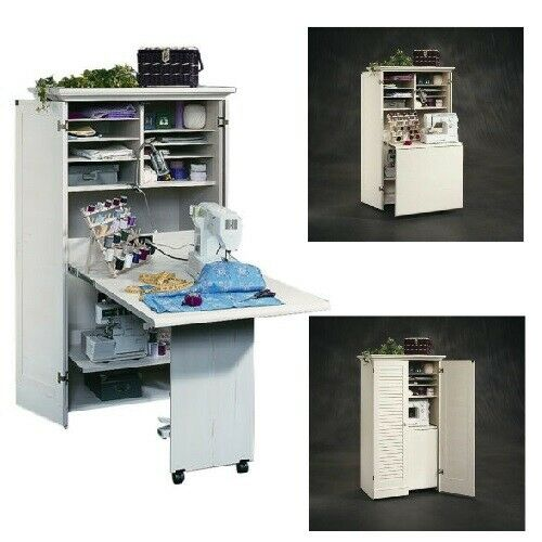 Sewing Craft Table Desk Scrapbooking Hobby Workspace Storage Crafting Organizing For Sale Online Ebay