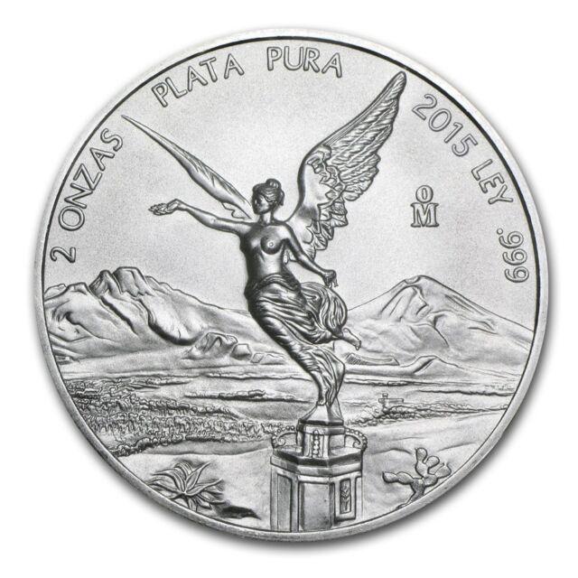 2015 1//2 oz Mexico Silver Libertad Coin BU