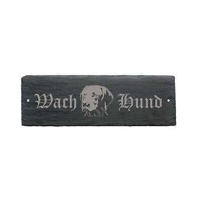Sanft Wetterfestes Schild « Wachhund Magyar Vizsla Kopf » Hund 22 X 8 Cm Ein Unverzichtbares SouveräNes Heilmittel FüR Zuhause