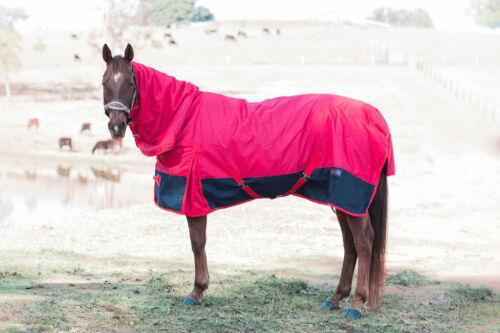 """5/'3/"""" Ruby Rose 200 gram Lined// 1200 Denier Doona Combo Horse Rug"""