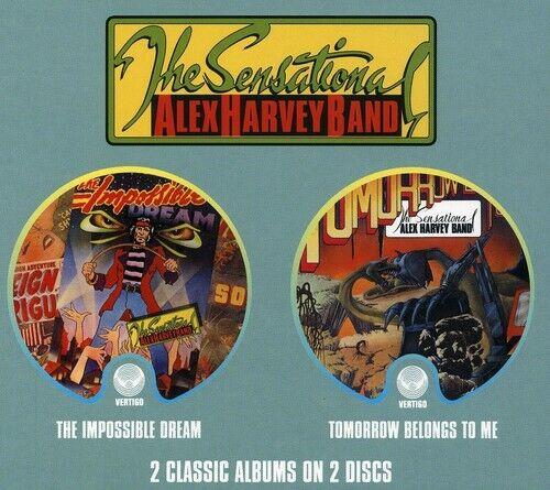 Sensational Alex Harvey Band - Impossible Dream / Tomorrow Belongs to Me CD NEW