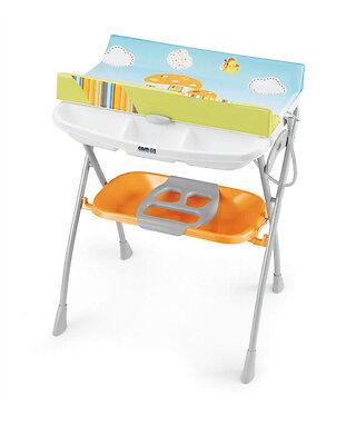 Пеленальный столик Volare оранжевый Cam (Кам)