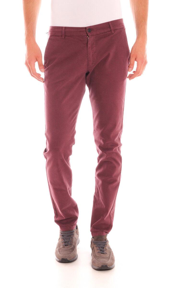Pantaloni Daniele Alessandrini Jeans Trouser men Bordeaux PJ5386L1003506 14