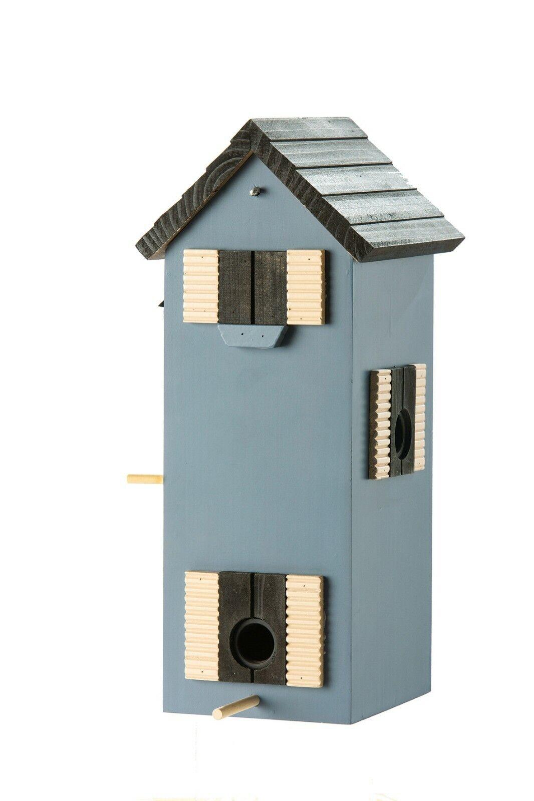 Futterspender vogelhaus nistplatz brutplatz garten terrasse blau 33cm | Sale  | Grüne, neue Technologie  | Sale