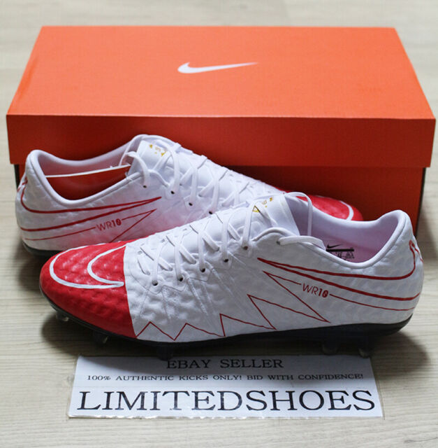 separation shoes 1bbef 5a92c NIKE HYPERVENOM PHINISH SE FG WR 250 WAYNE ROONEY 881052-169 US 8.5 SIZE
