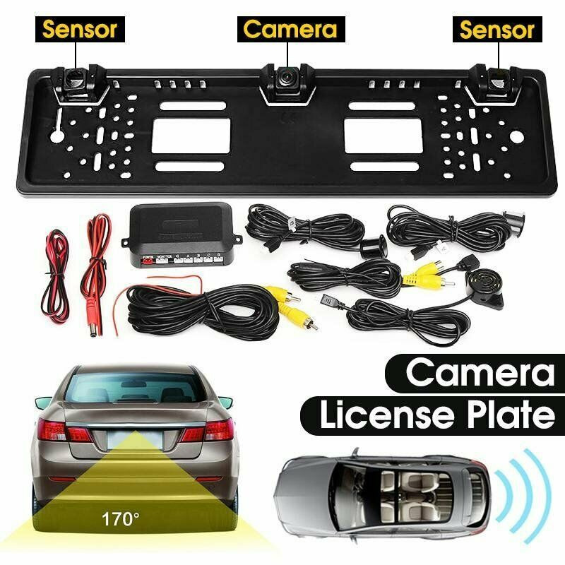 New Number Plate Camera With Parking Sensors