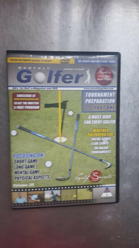 Golf Secrets DVD