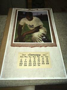 Dodgers Calendar.Details About Jackie Robinson Brooklyn Dodgers 1957 Baseball Calendar