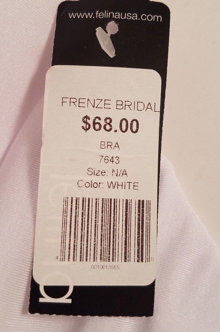 53993cb0b71 Davids Bridal Seamless Strapless Bra Corset 34b Felina 7643 Wedding  092104760201 for sale online