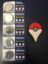5 NEW Nintendo Pokemon Go Plus Replacement Battery Batteries Only Ships USA