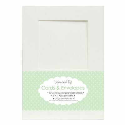 "Envelopes 8x Pastel Polka 5/""x7/"" Quality Grade Kraft Card Blanks Dovecraft"