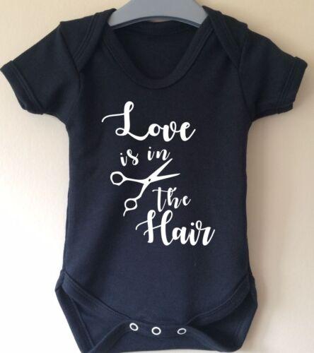 babybody El amor es en el pelo Peluquería Traje Chaleco aprendiz peluquería
