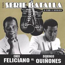 Serie Batalla: Cheo Feliciano Vs. Domingo Quinones, Quinones, Domingo, Feliciano