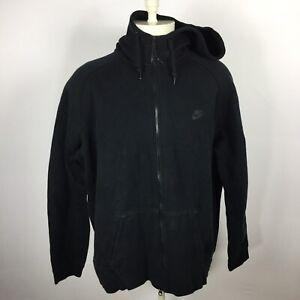Nike Mens Size XXL Black Full Zip Up Hooded Sweatshirt Athletic 559592-012. TT