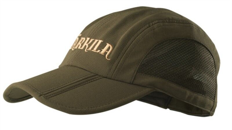 Harkila Herlet Foldable Cap Willow Green Lightweight Country Hunting Shooting