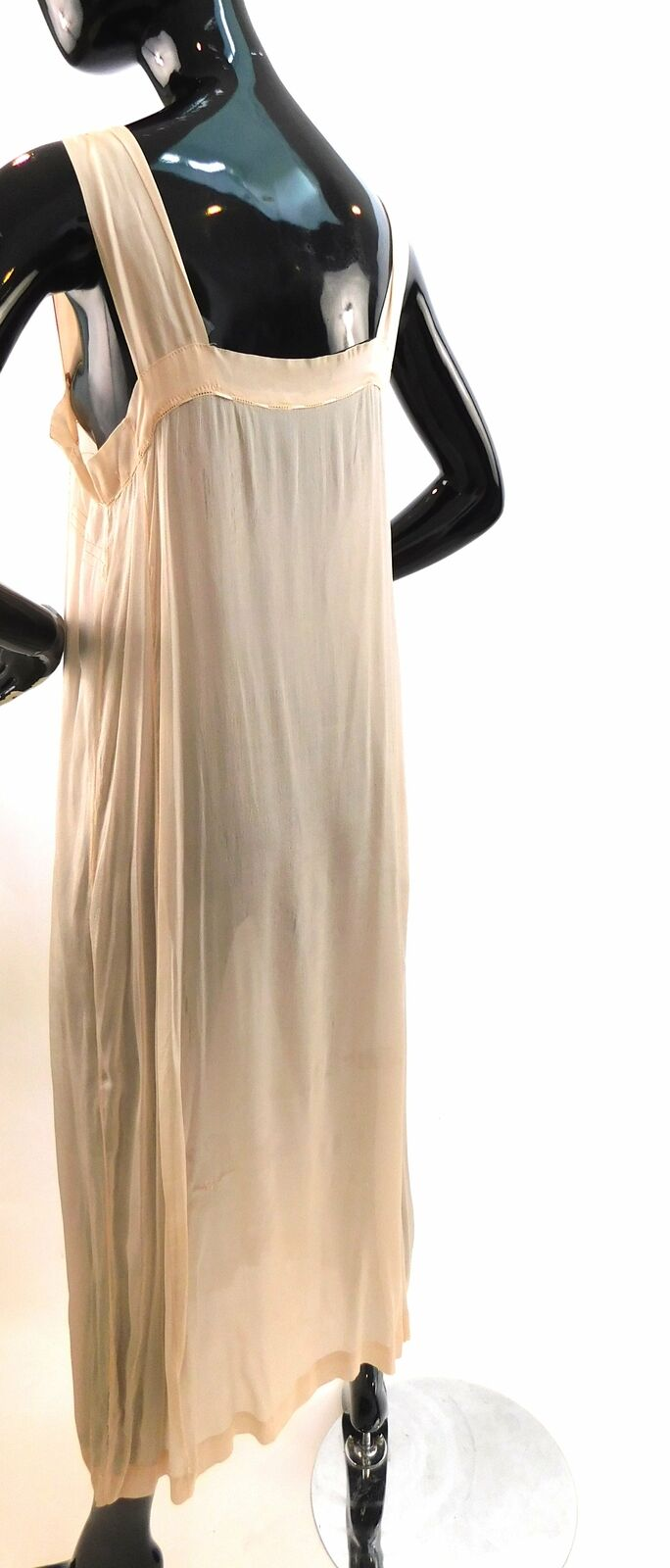 Vintage 1920s tissue silk night gown - image 2